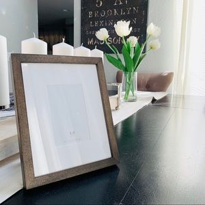 Pottery barn wood picture frame
